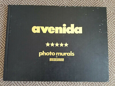 VTG* 70's* Avenida* Photo murals by Selecta* sample oversized book* as is*