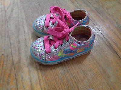 Skechers twinkle toes size 5 child
