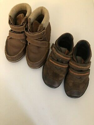 Marks And Spencer (M & S) Boys Shoes Boots Bundle UK Size 9