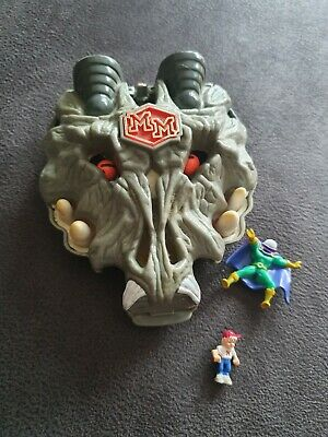 Mighty Max Wolfship Wolf Ship Incomplete Good Condition Bluebird Toys Rare