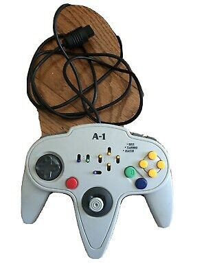 Nintendo 64 Controller N64 (Gray) A-1 with Turbo