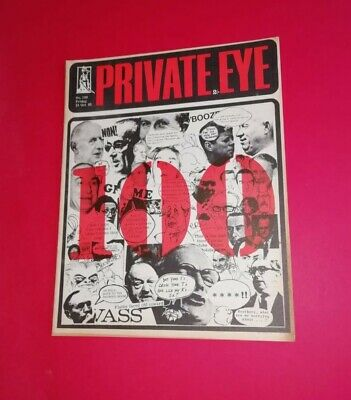Private Eye No 100 Oct. 1965 in a Like New condition.