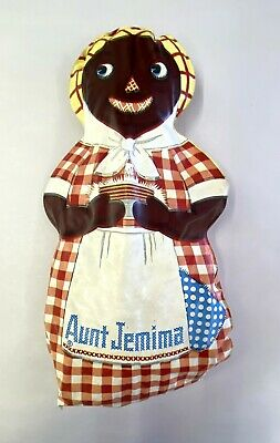 1940's Aunt Jemima Advertising Oil Cloth Cutout Doll
