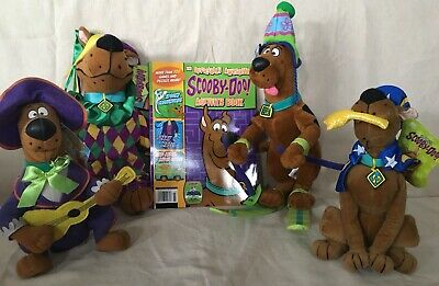 THE OFFICIALLY AWESOME SCOOBY DOO ACTIVITY BOOK Plus Plush Lot