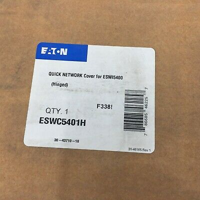Eaton ESWC5401H Quick Network Cover For ESWI5400 Hinged