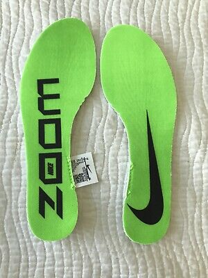 Nike Zoom Vaporfly Next % Running Replacement Insert Insoles Men's Size 7