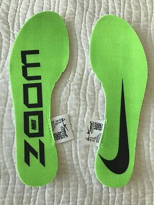 Nike Zoom Vaporfly Next % Running Replacement Insert Insoles Men's Size 5.5