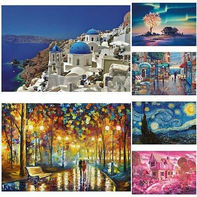Puzzle 1000 Pieces Mini Jigsaw Decompression Home Games Gifts Kids Adult Toys