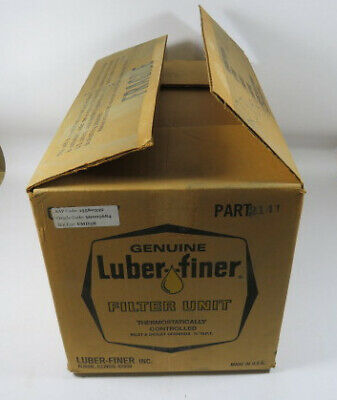 Luber Finer 2141 Thermostatically Controlled Diesel Filter Unit  NEW