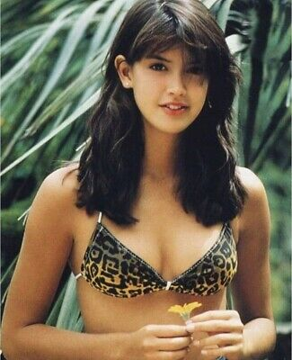 Phoebe Cates - In A Bikini Top - Great Headshot Also !!