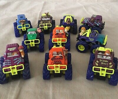 Scooby Doo Friction Car Lot RARE COMPLETE SET ALL 10
