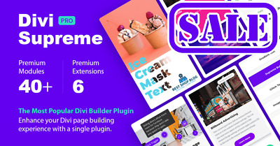 Divi Supreme Pro - Best Divi Theme Modules and Extensions - WordPress