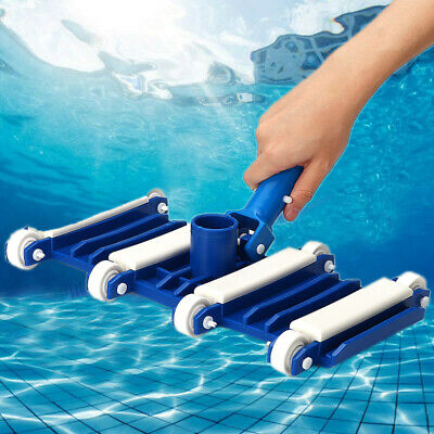 Vacuum Head Flexible Swimming Pool Cleaner Suction Brush Handle Cleaner Durable!