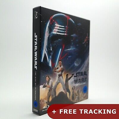 Star Wars: The Rise of Skywalker .Blu-ray Steelbook Full Slip Edition