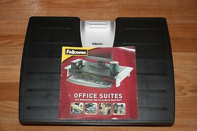 Fellowes Office Suites Adjustable Footrest - Black NEW Without Box