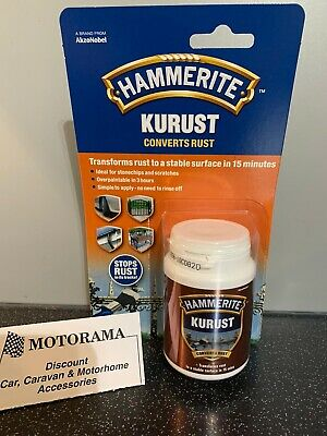 Hammerite Kurust Metal Rust Killer Converter Treatment One Coat Motorama Hull