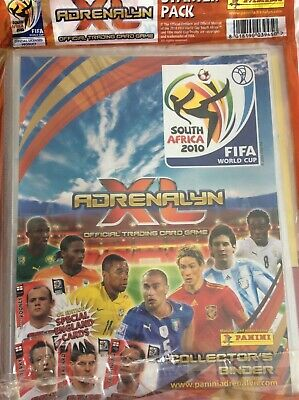 2010 Panini Adrenalyn XL FIFA World Cup 2010 Empty Album (Binder) With Extras ..