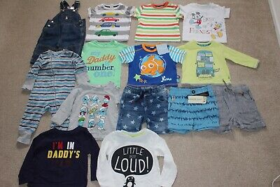 Baby Boys Clothes Job Lot Mix  3-6 ,  6-9  Months Gap / Ted Baker / Next H&M