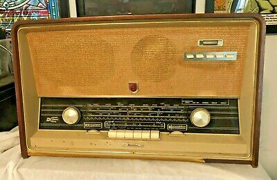 Vintage NORELCO Bi-Ampli VHF FM Radio Made in Holland A2 261 50 WORKS