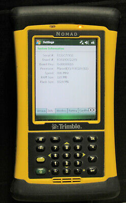 Trimble Nomad Model N324 Mobile Handheld Survey Data Collector Tested & Working