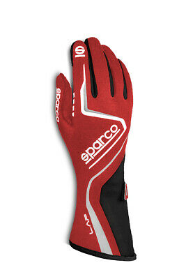 SPARCO Glove Lap X-Large Red / White 00131512RSNR