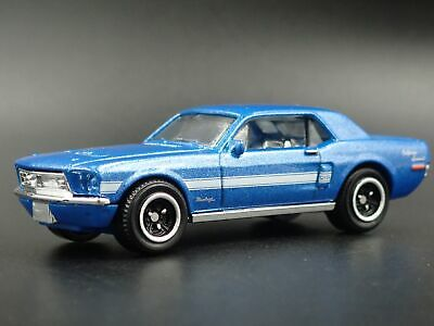 1968 68 Ford MUSTANG Coupe Gtgs 1:64 Miniature de Collection Diorama Voiture