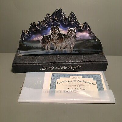 Bradford Exchange Mountain Monarchs Light Statue - Lords Of The Night