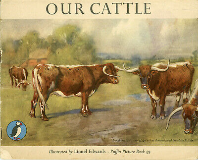 OUR CATTLE By Lionel Edwards 1948