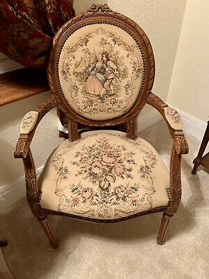 Antique French Armchair Pair