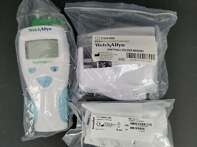 Welch Allyn SureTemp Plus Digital Thermometer 690 + Probe + Covers 01690-300 NEW