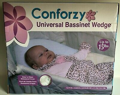 CONFORZY Universal Bassinet Crib Wedge Waterproof Cover Easy to Clean NEW