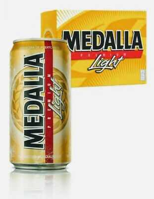 Cerveza Medalla Light Beer 12Pack  Puerto Rico Beers Fast Shipping Mayaguez 🇵🇷