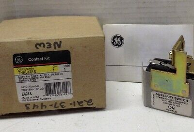 GE THAUX615 Auxiliary Contact Kit
