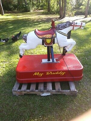 Coin Operated Kiddie Ride, Galloping Horse