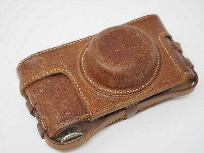 Brown Leather Ever Ready Case for Leica Screw Cameras