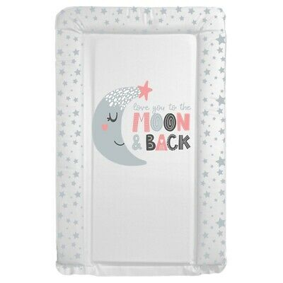 Changing Mat Love You To The Moon Baby Girl Changing Mat (79cm X 46cm) 🇬🇧 Made