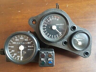 Honda Vfr400 Nc30 Speedometer Rev Counter Clocks Clocks And Bracket
