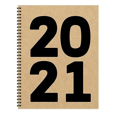 2021 Kraft Year Large Weekly Monthly Planner