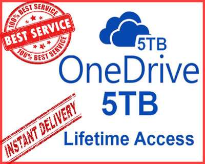 OneDrive 5TB Lifetime Account - LifeTime Account | Instant Delivery