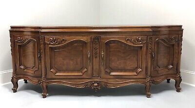 KARGES French Country Style Burl Walnut Sideboard