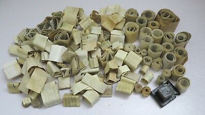 Europe Judaica Lot of 130 Parshiot for tefillin Phylacteries - different sizes