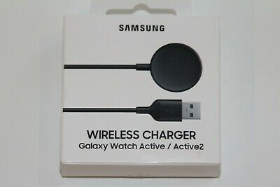Samsung Wireless Charger for Galaxy Watch Active 1 & 2 EP-OR825BBEGUJ OPEN BOX
