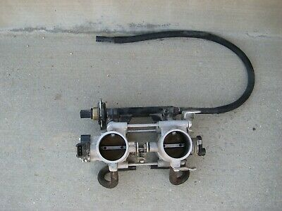 09 Bmw F800Gs K72 Throttle Bodys With Fuel Injectors