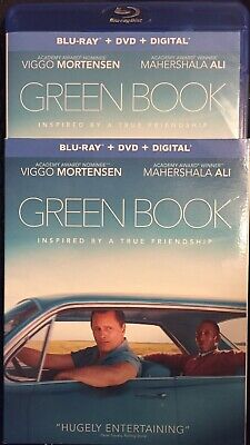 Green Book (Blu-ray + DVD + slipcover, No Digital) Like New, Never Played
