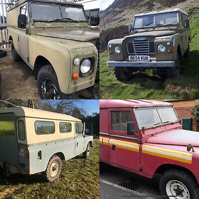 Land Rover Series 3 LWB Hard top 1979/1981/1984 *FINANCE AVAIL*