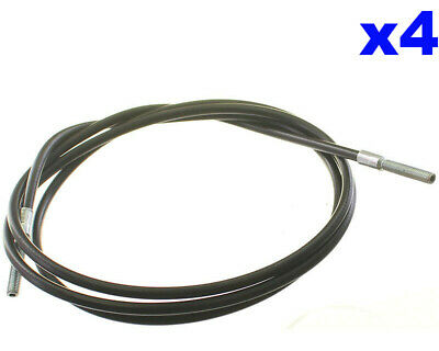 Go Kart 1.8M Outer Cable With M6 Adjusters Each End x 4 Race Racing