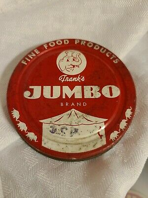 "Vintage Jumbo Peanut Butter Jar Lid Only Replacement Original 3 1/8"" Diameter"