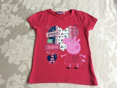 Peppa Pig 5-6 years girls Top in good condition with few marker stains