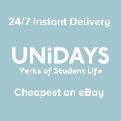 UNIDAYS Student Beans Account - Student Discount - 12 Months - Instant Delivery