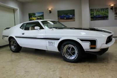 1972 Ford Mustang Mach 1 351 V8 Fastback 3-Speed Automatic - Huge Upgrades